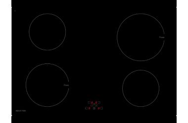 Inductie inbouw kookplaat 76,4 cm breed
