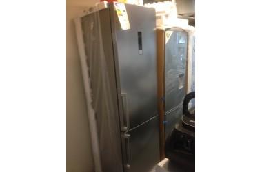 Siemens koelkast 201 cm hoog kleur grijs